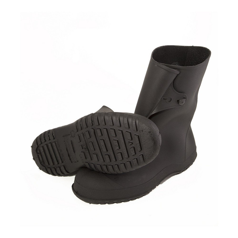 Made from PVC Small //6.5-8 W US Tingley Mens Workbrute 10 Inch Overshoe Rain Boot Black