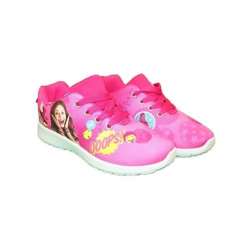 Soy Luna - Zapatillas de Baloncesto para niña: Amazon.es: Zapatos ...
