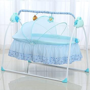 Decdeal eléctrico bebé cuna cuna Swing dormir cesta Cama Cuna ...