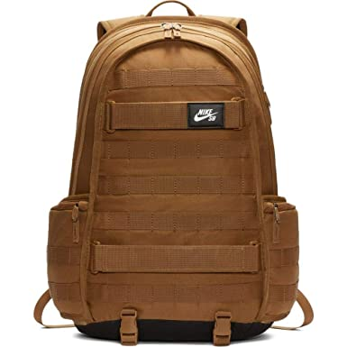 20d5e125fa27 Image Unavailable. Image not available for. Color  Nike SB RPM Skateboarding  Golden Beige Backpack