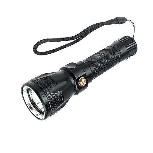 BlueFire® 1200LM Cree Xml-L2 Scuba Dive Diving LED Flashlight