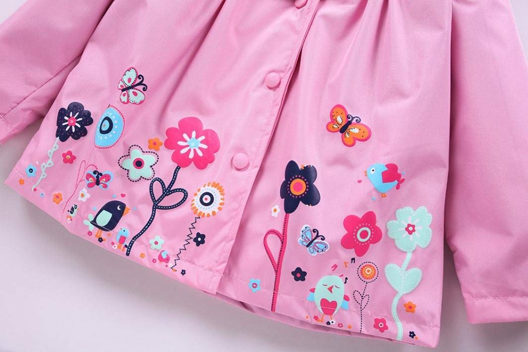 Amazon.com: Jchen - Chaqueta con capucha para bebé, chica ...