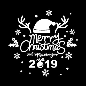 Amazoncom Mome2019 New Year Merry Christmas1 Set Red Black