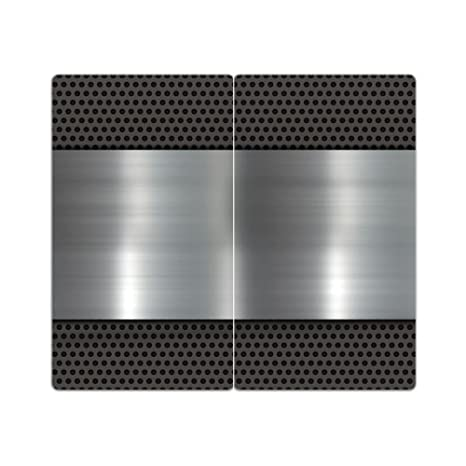 Cubiertas de acero 2 m. Grano de cristal Decoración de ...