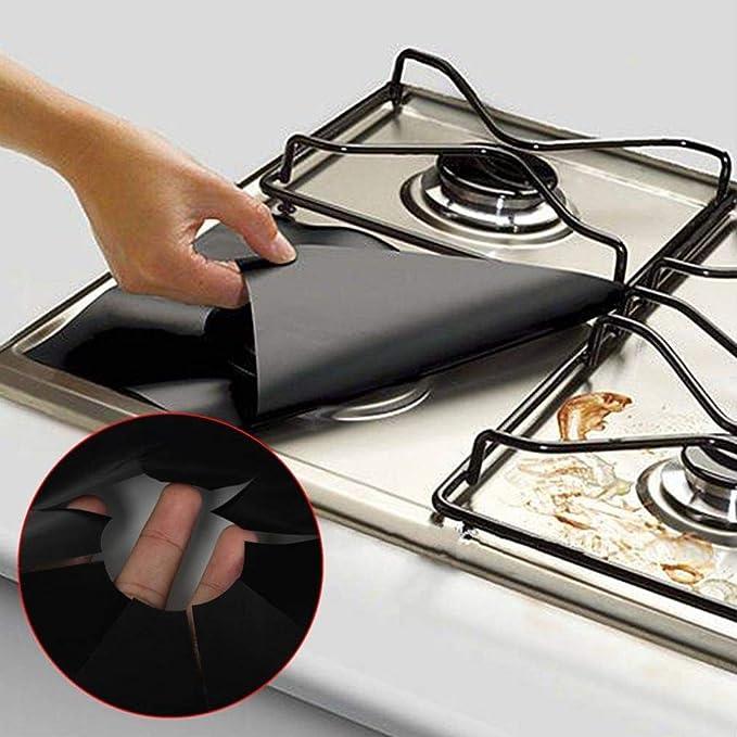 feccile 2/Set Küche Universal Herdabdeckplatten Displayschutzfolie ...