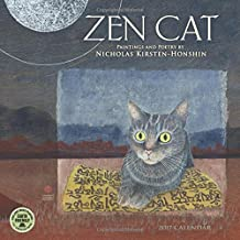 Zen Cat 2017 Wall Calendar: Paintings and Poetry by Nicholas Kirsten-Honshin