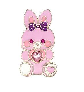 Upstudio Distintivi di Gioielli di novità Distintivo di Distintivo Distintivo Spilla Coniglio Carino (colorato)