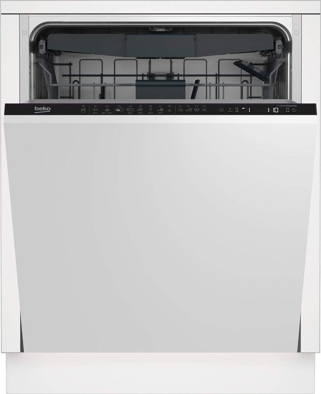 Beko DIN28430 Totalmente integrado 14 cubiertos A+++ lavavajilla