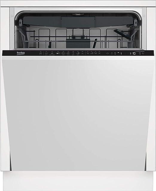 Beko DIN28430 Totalmente integrado 14cubiertos A+++ lavavajilla ...