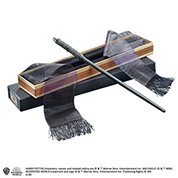 Bacchetta di Piton HARRY POTTER Snape Wand Ollivanders Box Noble Collection