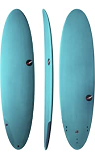 NSP PROTECH EPOXY FUNBOARD Surfboard | FINS Included | Durable All Around Fun Board SURF Board