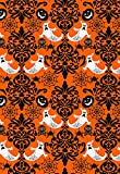 Best Gifts For Halloweens - Behind Damask Halloween Gift Wrap Flat Sheet Review