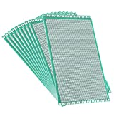 uxcell 10pcs 9x15cm Double Sided PCB Board