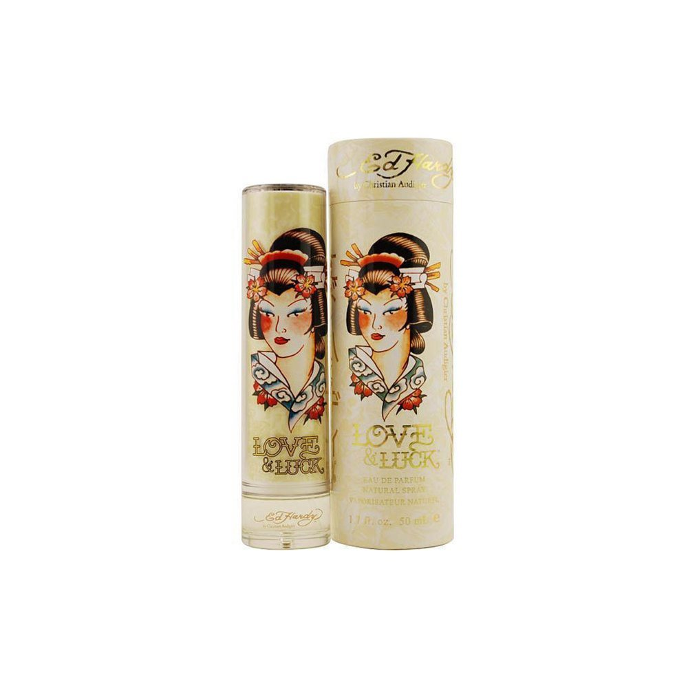 Christian Audigier Ed Hardy Love & Luck Women Agua de Perfume Vaporizador - 100 ml: Amazon.es: Belleza