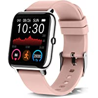 """Donerton Smart Watch, Fitness Tracker for Women, 1.4"""" TFT LCD Screen Smartwatch with Heart Rate and Sleep Monitor, IP67…"""
