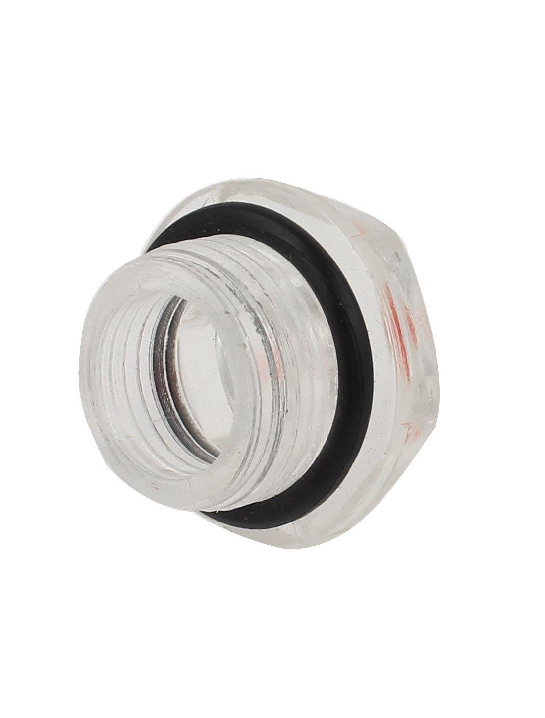 Sourcingmap a14080400ux0301 - De 20 mm de diámetro nivel de aceite del compresor de aire de rosca macho visor de líquido: Amazon.es: Bricolaje y ...