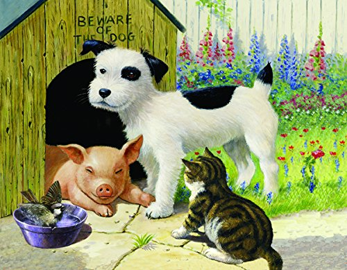Unlikely Friends 35 LARGE Piece Jigsaw Puzzle by SunsOut