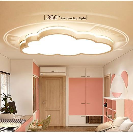 MyLjp Deckenlampe Ultra-dünnen Kinderzimmer Lampe LED Schlafzimmer Lampe  Wolke Deckenlampen Warme Junge Mädchen Wohnzimmer Lampe Cartoon Moderne  Lampe ...