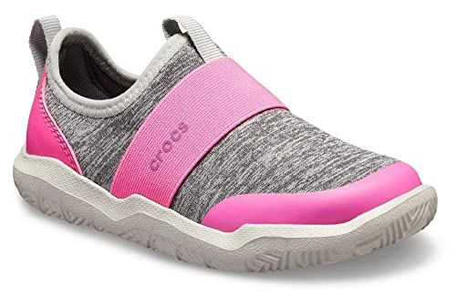 wholesale dealer 50df4 a90d6 crocs Kinder, Mädchen, Jungen' Swiftwater Easy-On Heathered Shoe Children  Girls Boys