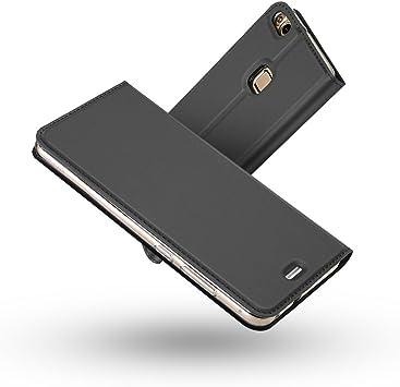 Radoo Funda Huawei P10 Lite, Slim Case de Estilo Billetera Carcasa ...