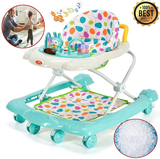 Walker Baby, Baby-Altura Ajustable Walker, 2 en 1 bebé Walker, con ...