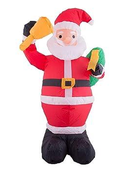 toybakery - Decoración navideña Decorativa Hinchable Papá Noel ...