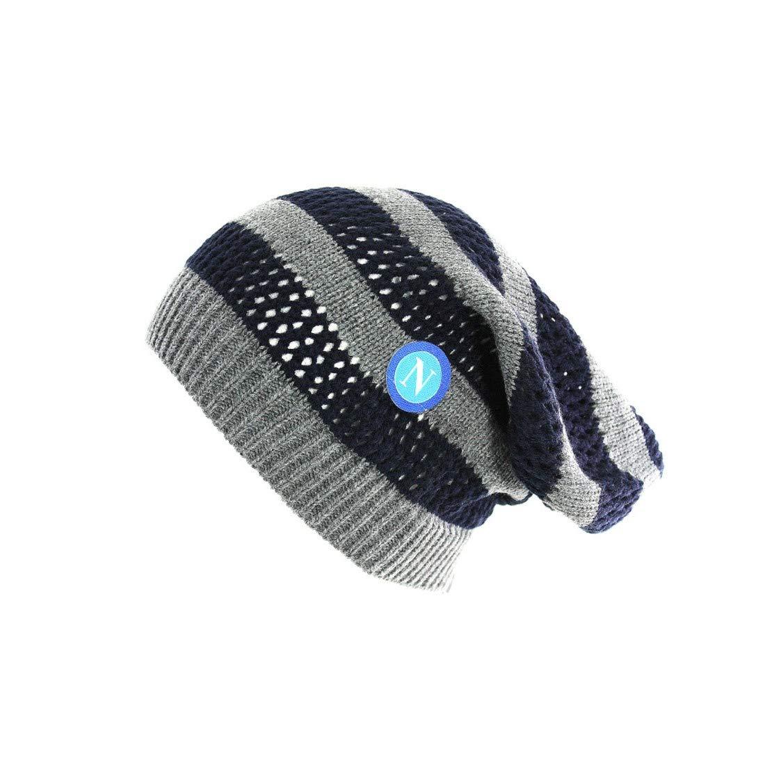 Cappello uomo NAPOLI - ENZO CASTELLANO rasta 100% acrilico grigio in box VL742
