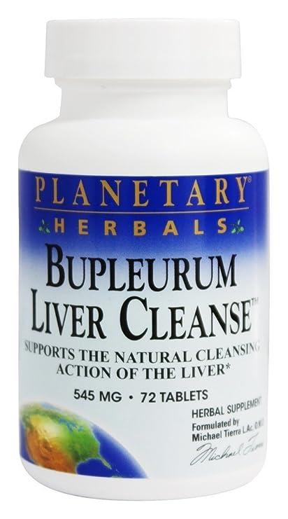 Planetary Herbals - El hígado de Bupleurum limpia 530 el magnesio. - 72 De las
