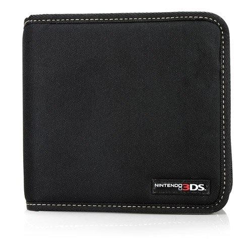 Nintendo Licensed Pull n Go Storage Folio - Black (Nintendo 3DS/DSi/DS Lite)