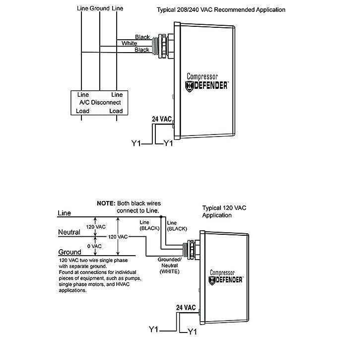 Amazon Intermatic Cd1 024r Compressor Defender Protects Central
