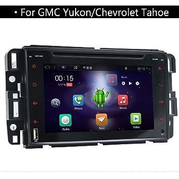 YUNTX Doble DIN Car Stereo, en Dash Car GPS Navegación con 7 Pulgadas Multi-