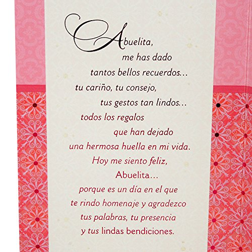 Hallmark VIDA Spanish Mother's Day Greeting Card for Grandmother (Love With All My Heart) Photo #7