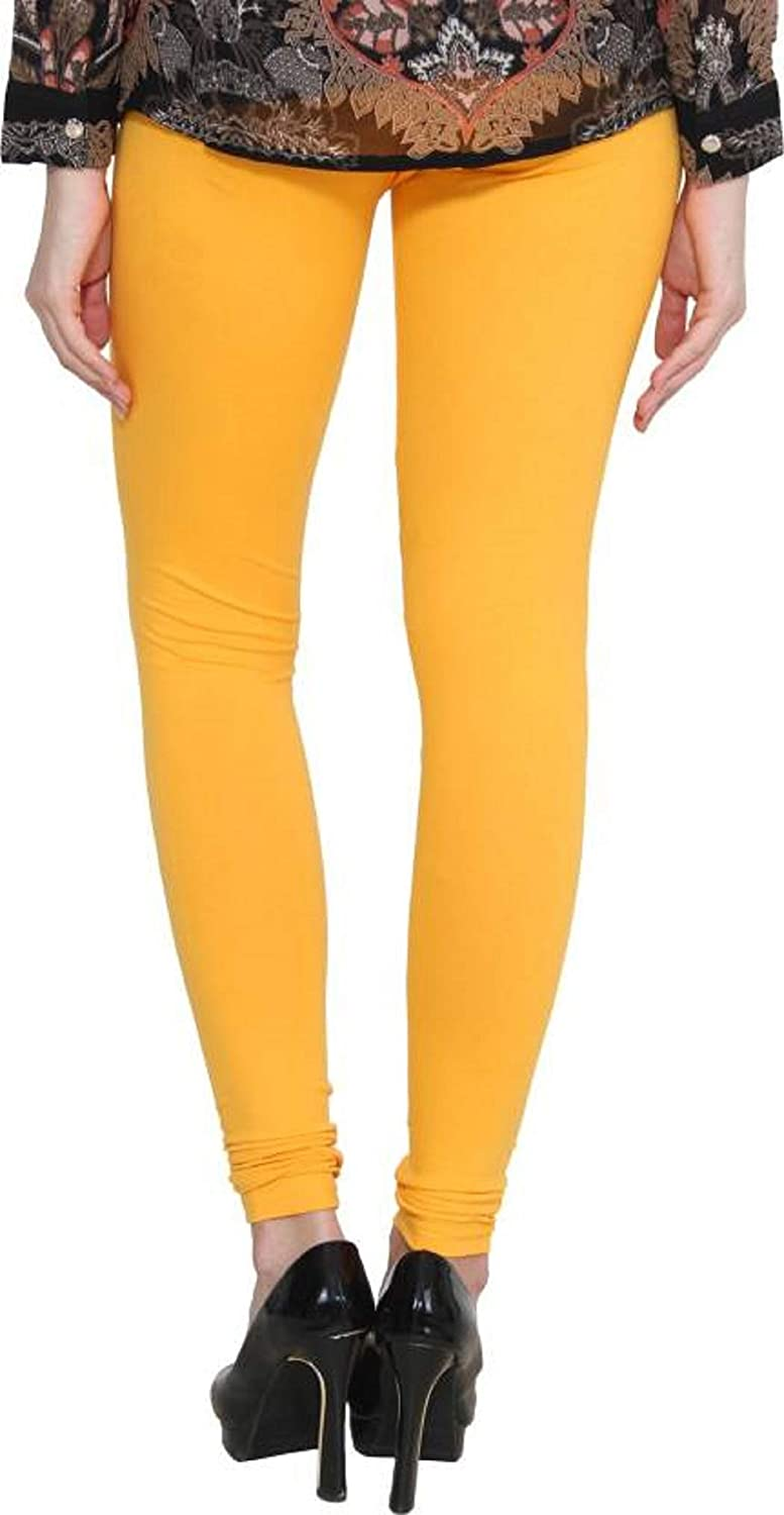 32f5ffdbb11 LUX LYRA Churidar Legging (Pack Of 5)(5PC COMBO 5-lyra Free Size)   Amazon.in  Clothing   Accessories