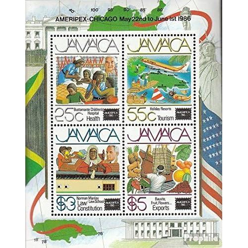 jamaica block27 (complète.Edition.) 1986 Exposition philatélique (Timbres pour les collectionneurs)