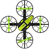 Domybest ドローン カメラ付き こども向け おもちゃ 子供用 高度維持 ラジコン エアーボード フライトモード パラグライダー ワンキー起動 着陸 初心者 練習最適