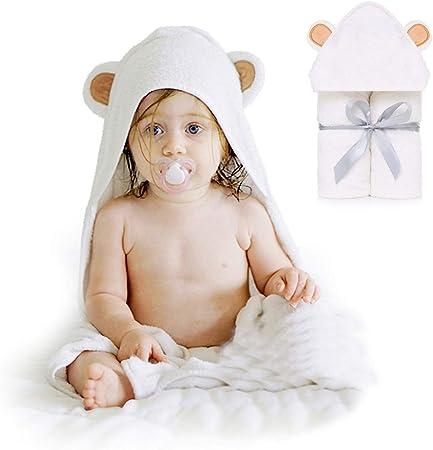 HyAdierTech Baby Toalla con Capucha, Toalla de Baño Bebé, Capa de ...