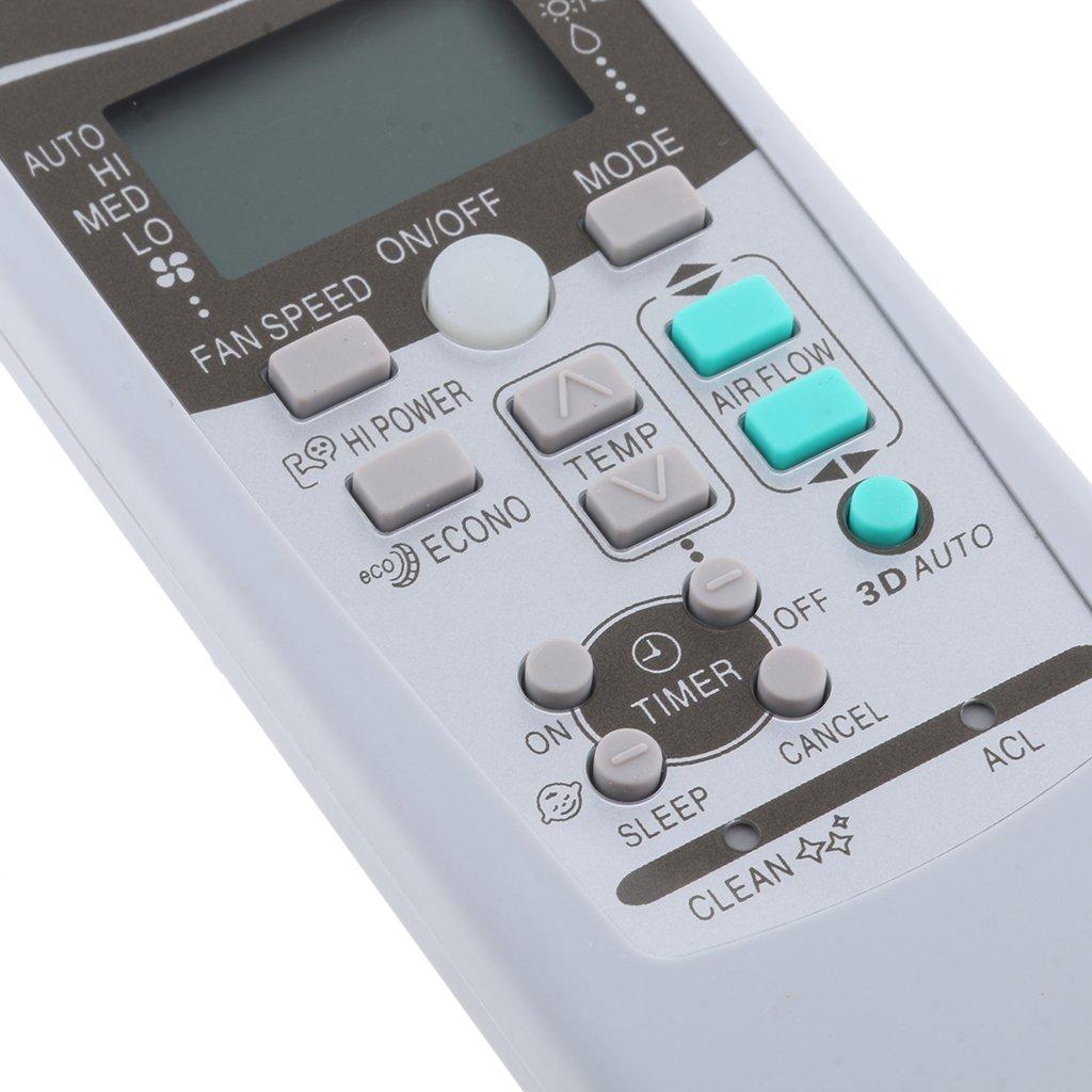 gazechimp Telecomando Sostitutivo Per Condizionatore MITSUBISHI RKX502A001,1pcs