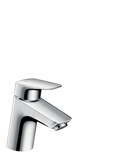hansgrohe Logis basin mixer tap 70 with push open waste, chrome ...