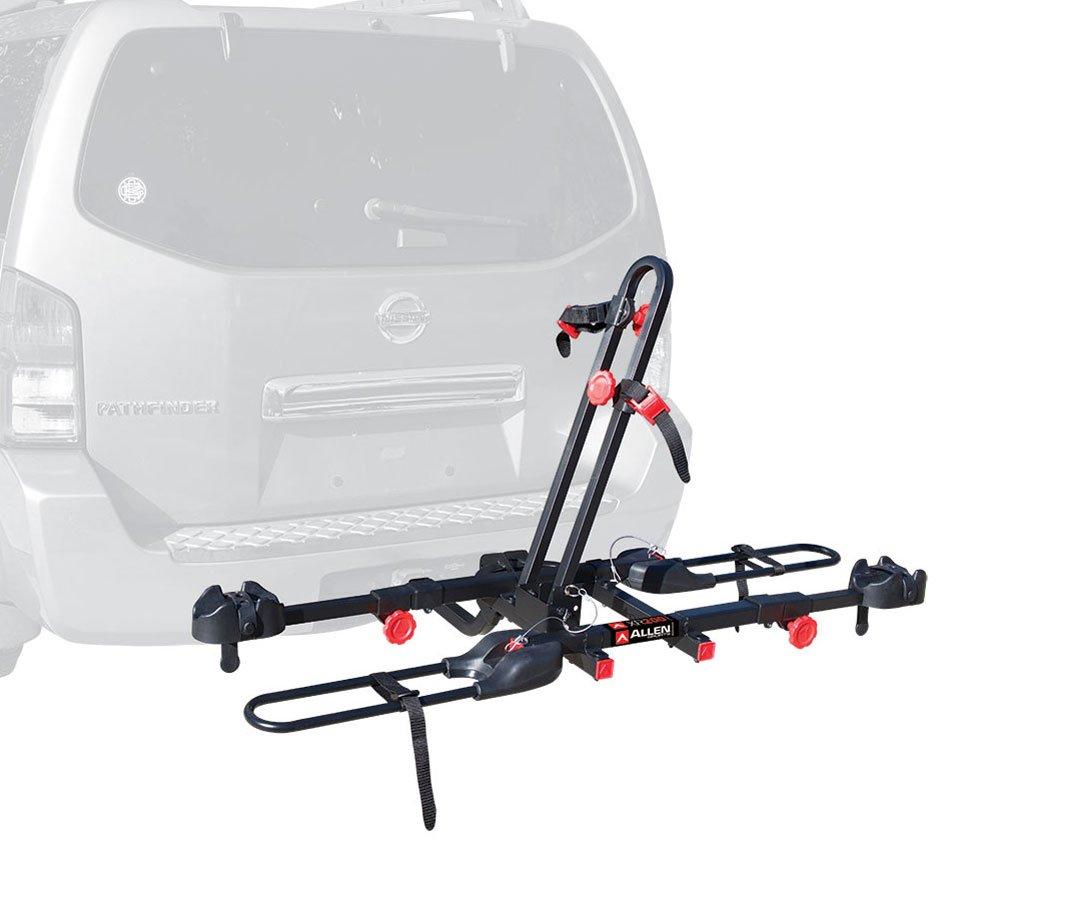 Allen Sports Easy Load Deluxe 2-Bike Hitch Rack, Black