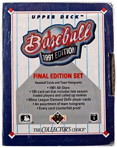 1991 Upper Deck Baseball Final Edition Factory Set (Baseball Set Deck Upper)