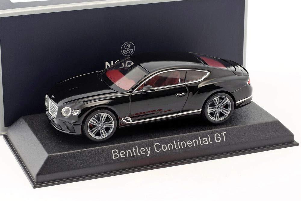 ノレブ 1/43 ベントレー コンチネンタル GT 2018 ブラック B07KMJFF6J