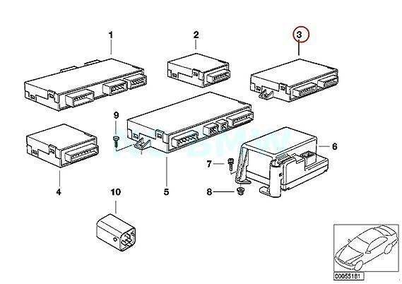 Amazon Com Bmw Genuine Check Control Module Automotive