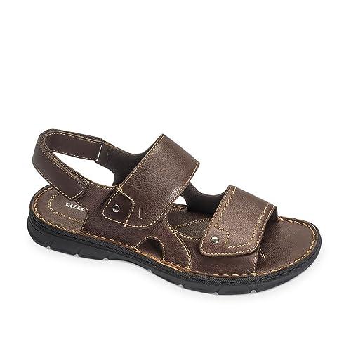 VALLEVERDE sandali scarpe Trekking uomo in pelle