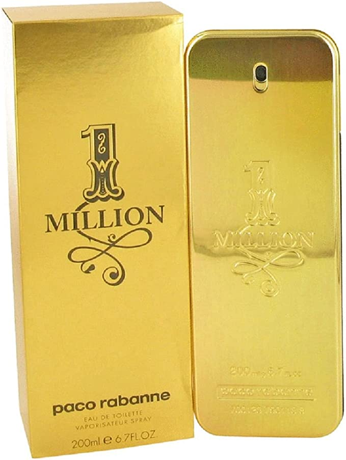 One Million para hombre por Paco Rabanne – 200 ml Eau de Toilette Vaporizador: Amazon.es: Belleza