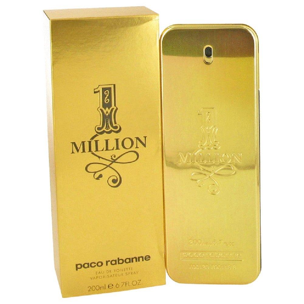 One Million POUR HOMME par Paco Rabanne - 200 ml Eau de Toilette Vaporisateur