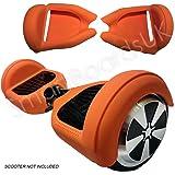 "SILISKINZ® 360 GRADO CUSTODIA PER GELATINA IN SILICONE Hoverboard per 6.5 ""Swegway 2 Wheel Smart Scooter"