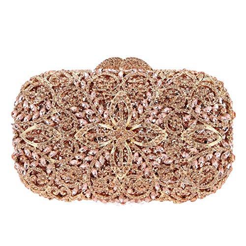 Fawziya Formal Bags For Women Purses And Handbag Wholesale-Rose (Factory Wholesale Handbag)