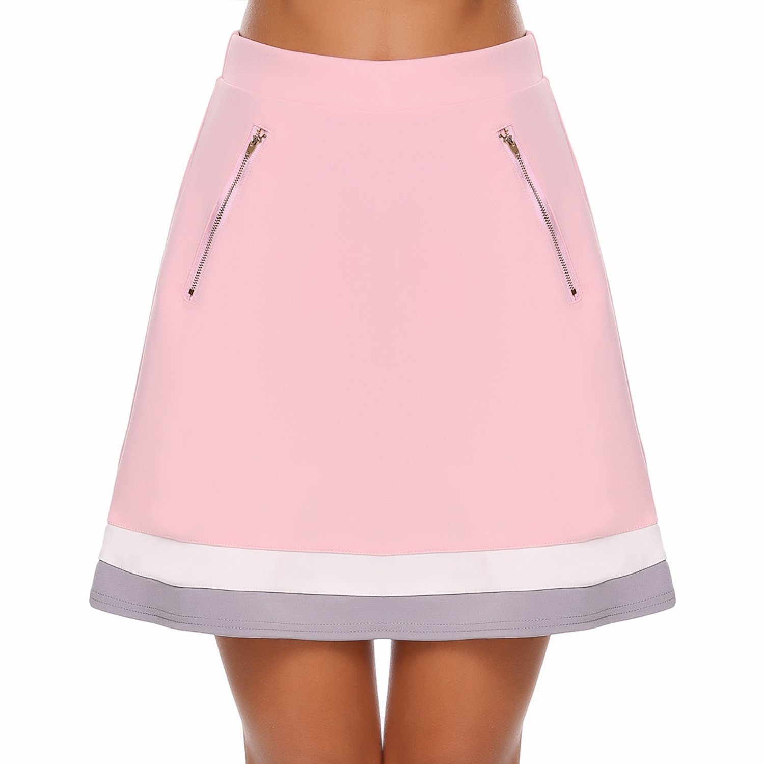 Ease in to Comfort Fit Sport Skirt Pink