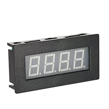 High Precision 0.56 4 LED Digital Frequency Tachometer Car Motor Speed Meter RPM Measurement Tester 5-9999R//M DC 8-15V