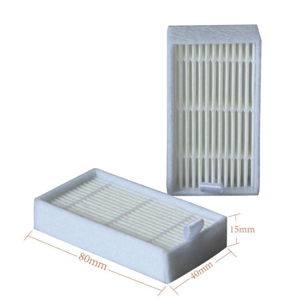 Filtro Hepa NTNT para ilife v5 V3 V5s Pro Paquete de Accesorios de aspiradora para el Pilar ilife v5 x5 X600 x500 Cepillo Lateral ECOVACS CR120